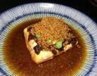 肉汁蒸豆腐