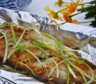 ♣ 纸包烤鱼
