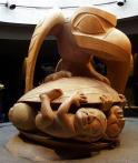 UBC人类学博物馆 原住民木雕