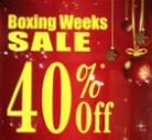 Boxing Week 节礼周