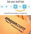 无限次免费速递 Amazon食品