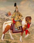 乾隆 戎装像 洋画师在中国宫廷。。。