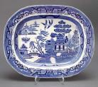 青花柳 英国瓷