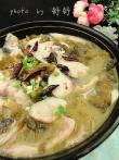 ♣ 酸菜鱼(炖豆腐) sauerkraut fish