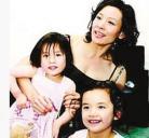 陈冲和她的亲生女儿