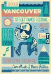 温哥华DT「街头街舞节」 夏日活动注意防晒