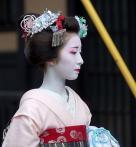 艺伎 妆容 Japan
