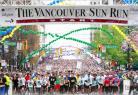 年度「温哥华太阳长跑」Vancouver Sun Run