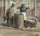 ♧ 卖烘山芋 (动图)