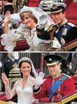 趣说两位王妃的婚礼挥手照