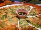 面糊里加蔬菜丝 韩式煎饼