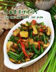 ♨ 韮菜苔炒螺片