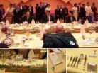 ♣ 国宴「主桌」台面最高档 招待元首级外宾
