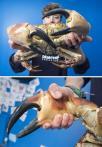 蟹钳大如人拳头 力气是人手的四倍