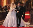 周杰伦与昆凌婚礼 高档婚纱就是贵