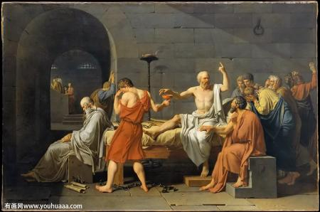 《苏格拉底之死》 为真理和信仰献身