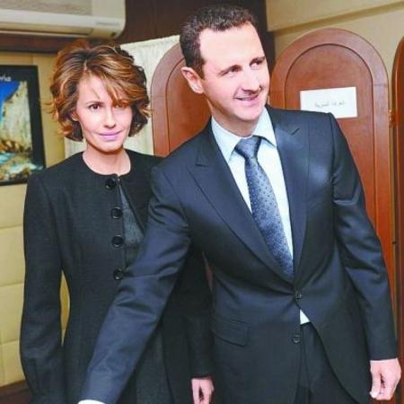 叙利亚总统Bashar al-Assad 夫妇