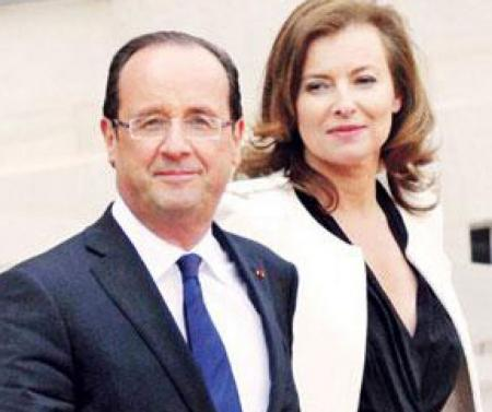 '忍'字心上一把刀  法国第一情侣分手