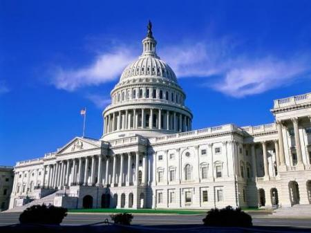 采访美国参众两院新闻发布会 美国广播电视记者协会管发记者证