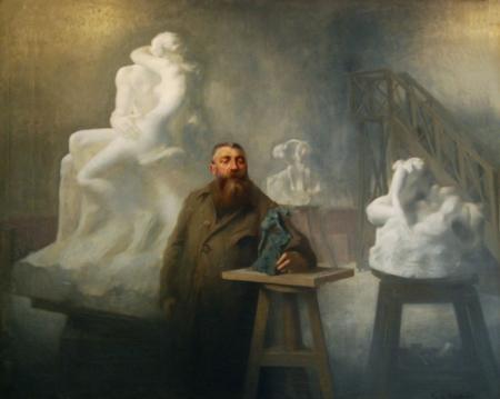 ✤♦ 罗丹和他的雕塑