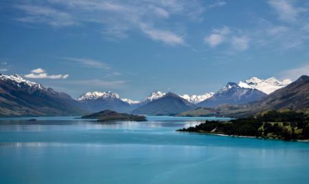 瓦卡蒂普湖 新西兰