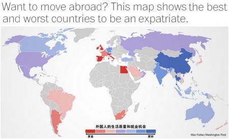 最适合企业外派人员居住de国家 想海归可回国