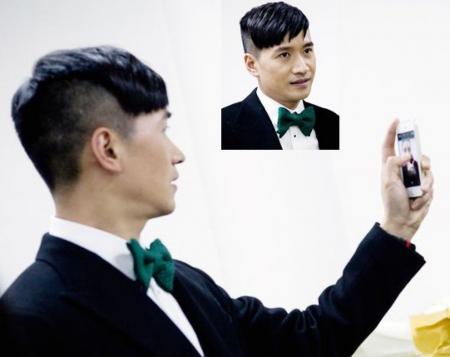 何晟铭 发型