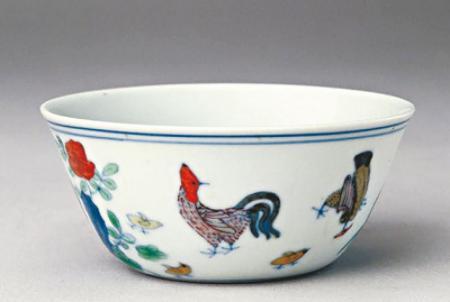 刷新中国瓷器世界拍卖纪录 成化斗彩鸡缸杯