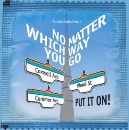 当一夜情不可避免时…… 多伦多避孕套免费拿