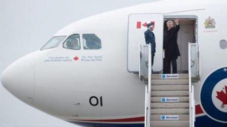加拿大总理座机要安装反导弹系统