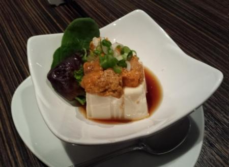 黃金海胆豆腐