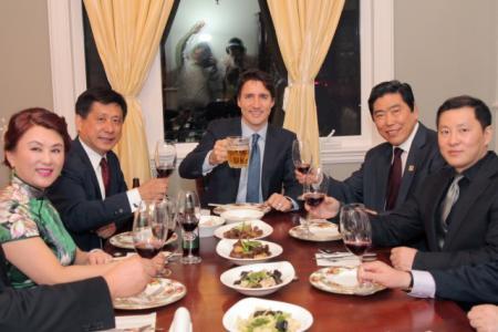 加拿大总理刷脸筹款 这个级别出席私宴 饭票才C$1500