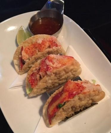 the lobster tacos