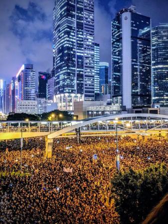 香港历史上最大规模的示威游行