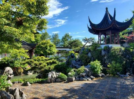 (温哥华) 中山公园 Chinatown