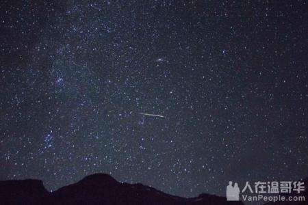 在温哥华有哪些地方可以看流星雨?