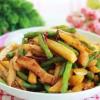 土豆榨菜炒刀豆